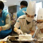 소아암 어린이들과 행복한 케이크 만들기