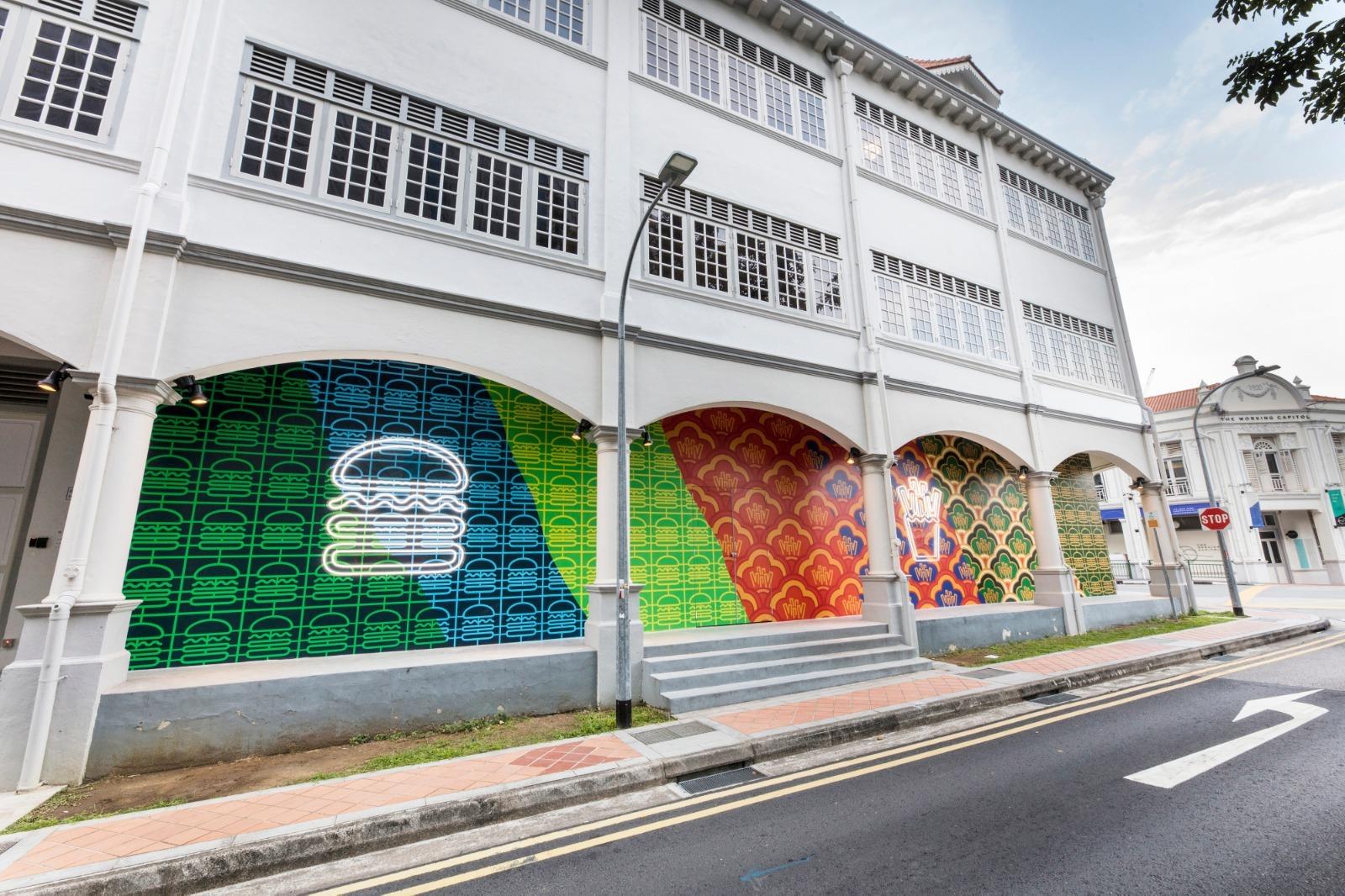 쉐이크쉑 싱가포르 매장